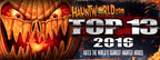 Hauntworld.com Announces America's Top 13 Scariest And Best Haunted Attractions