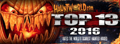 Hauntworld.com releases its Top 13 haunted houses for 2016.