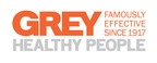 Grey Healthy People Logo.  (PRNewsFoto/Grey)