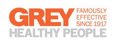 Grey Healthy People Logo.  (PRNewsFoto/Grey)