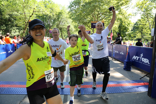 Cigna Fdn. awards Achilles grant to study effect of running on kids with autism (PRNewsFoto/Cigna Foundation ...