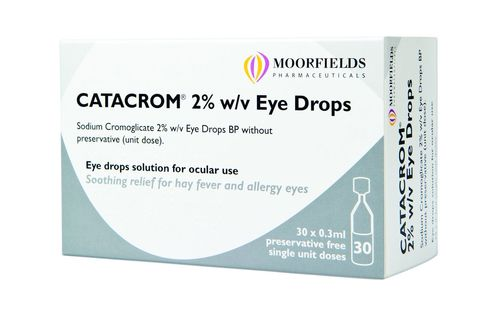Early use of eye drop could provide relief for hay fever sufferers. (PRNewsFoto/Moorfield Pharmaceuticals)