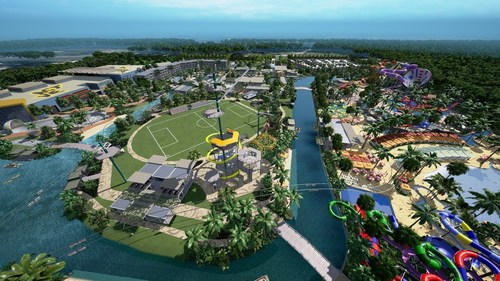 Dubai-based Najibi Group and its new investment and development company in Australia Sanad Capital, have just announced an AUD 400 million 'active lifestyle' destination, inspired by Asia's high-profile tourist hotspots. (PRNewsFoto/Najibi Group and Sanad Capital)