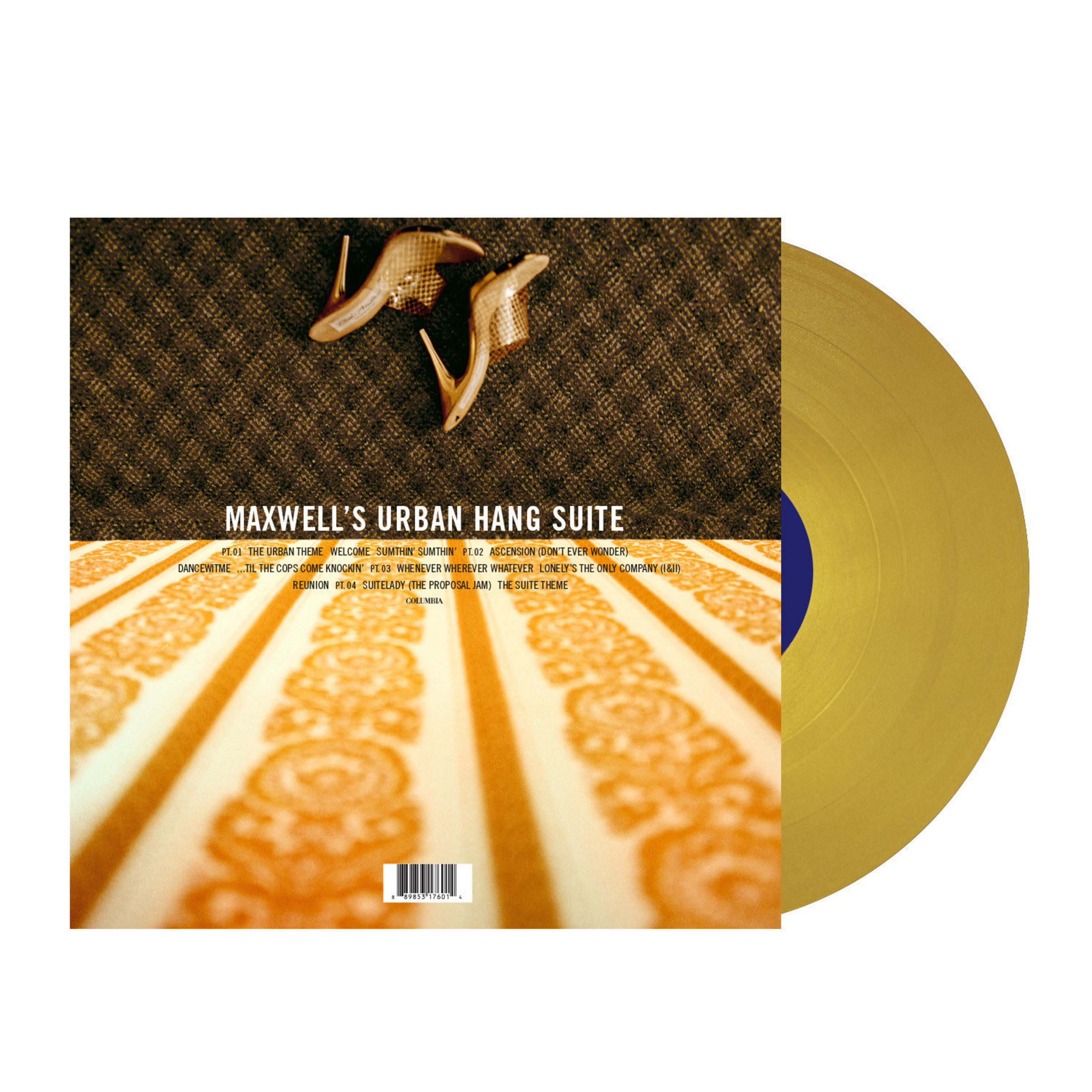 Legacy Recordings Celebrates the Music of Maxwell with Special Limited Edition 12' Vinyl Releases: