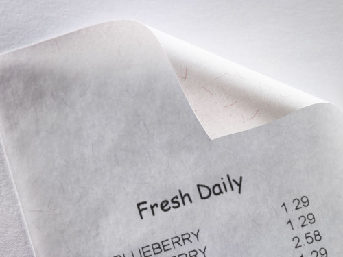 Nation's Largest Maker of Thermal Receipt Paper Does Not Use BPA