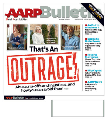 March Issue of AARP Bulletin