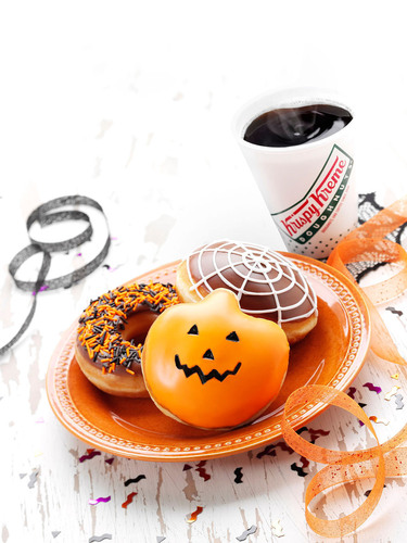 This Halloween, treat the whole ghostly gang to their favorite terrorific treats from Krispy Kreme.  ...