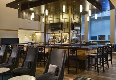 Marriott St. Louis Grand Hotel will celebrate its reopening in grand style when it officially completes a $30 million renovation and brand change at 12:01 a.m. Aug. 18, 2015.