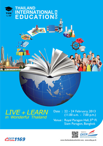 Thailand International Education Expo: TIEE (2013) Live + Learn in Wonderful Thailand
