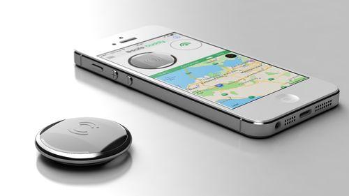 BiiSafe Buddy enables easy location sharing and alert sending (PRNewsFoto/BiiSafe)