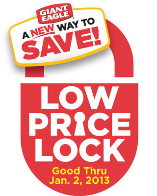 Giant Eagle locks low prices on hundreds of popular items to help families plan budgets for holidays.  (PRNewsFoto/Giant Eagle)