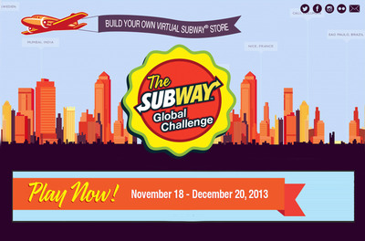 Second Round of Virtual SUBWAY(R) Global Challenge Kicks Off | Photo credit: SUBWAY(R) Restaurants.  (PRNewsFoto/SUBWAY Restaurants)
