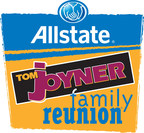 Tom Joyner and Allstate return to Kissimme, FL Labor Day weekend with family friendly events and concerts including Frankie Beverly, Teddy Riley, Johnny Gill, Yolanda Adams, Kirk Franklin and more! (PRNewsFoto/Allstate Tom Joyner Family)