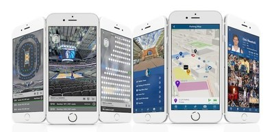 The Mavericks mobile apps feature an immersive ticketing experience with 360-degree panoramic seat views.