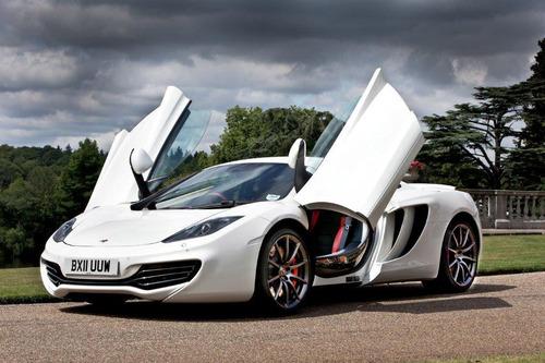Hertz UK and Premiere Velocity offer world-exclusive McLaren MP4-12C rentals.  (PRNewsFoto/Hertz Corporation)