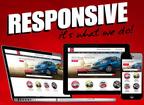 DealerFire launches fully responsive automotive website. (PRNewsFoto/DealerFire)