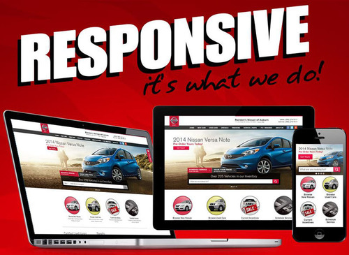 DealerFire launches fully responsive automotive website. (PRNewsFoto/DealerFire)