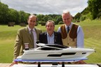 Boodles' James Amos, Sunseeker London's David Lewis and the Royal Berkshire Shooting School's Dylan Williams (PRNewsFoto/The Sunseeker Boodles Cup)