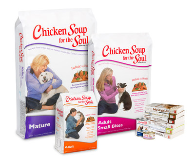 Chicken Soup for the Soul Premieres at SuperZoo (PRNewsFoto/Chicken Soup for the Soul Foods)