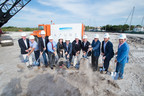The team officially breaks ground at AZURE Palm Beaches. (c) David R. Randell Photographics