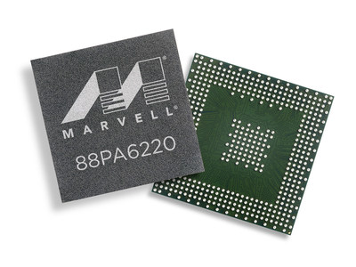 Marvell's most advanced mainstream printer system-on-chip (SoC), the Marvell(R) 88PA6220, delivers breakthrough performance at a low system cost by integrating a dual-core ARM(R) Cortex(R) A53 (64-bit) processor running at 1.0GHz, dual-channel configurable scan and print pipelines, a high-performance 2D/3D GPU, and an integrated GE Ethernet MAC and PHY. The 88PA6220 also introduces Marvell's revolutionary modular chip (MoChi(TM)) architecture into the Printer SoC family, extending the I/O capabilities of the 88PA6220 through the growing portfolio of Marvell connectivity and expansion solutions.