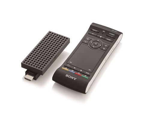 Sony NSZ-GU1 BRAVIA Smart Stick and remote. (PRNewsFoto/Sony Electronics) (PRNewsFoto/SONY ELECTRONICS)