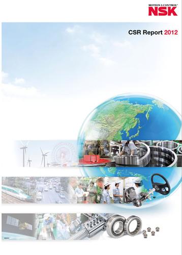 NSK Releases 2012 CSR Report.  (PRNewsFoto/NSK)
