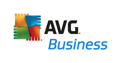 AVG Technologies Business Logo.