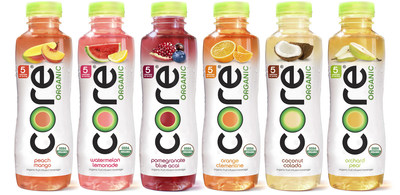 Premium Bottled Water Core Hydration Launches Breakthrough