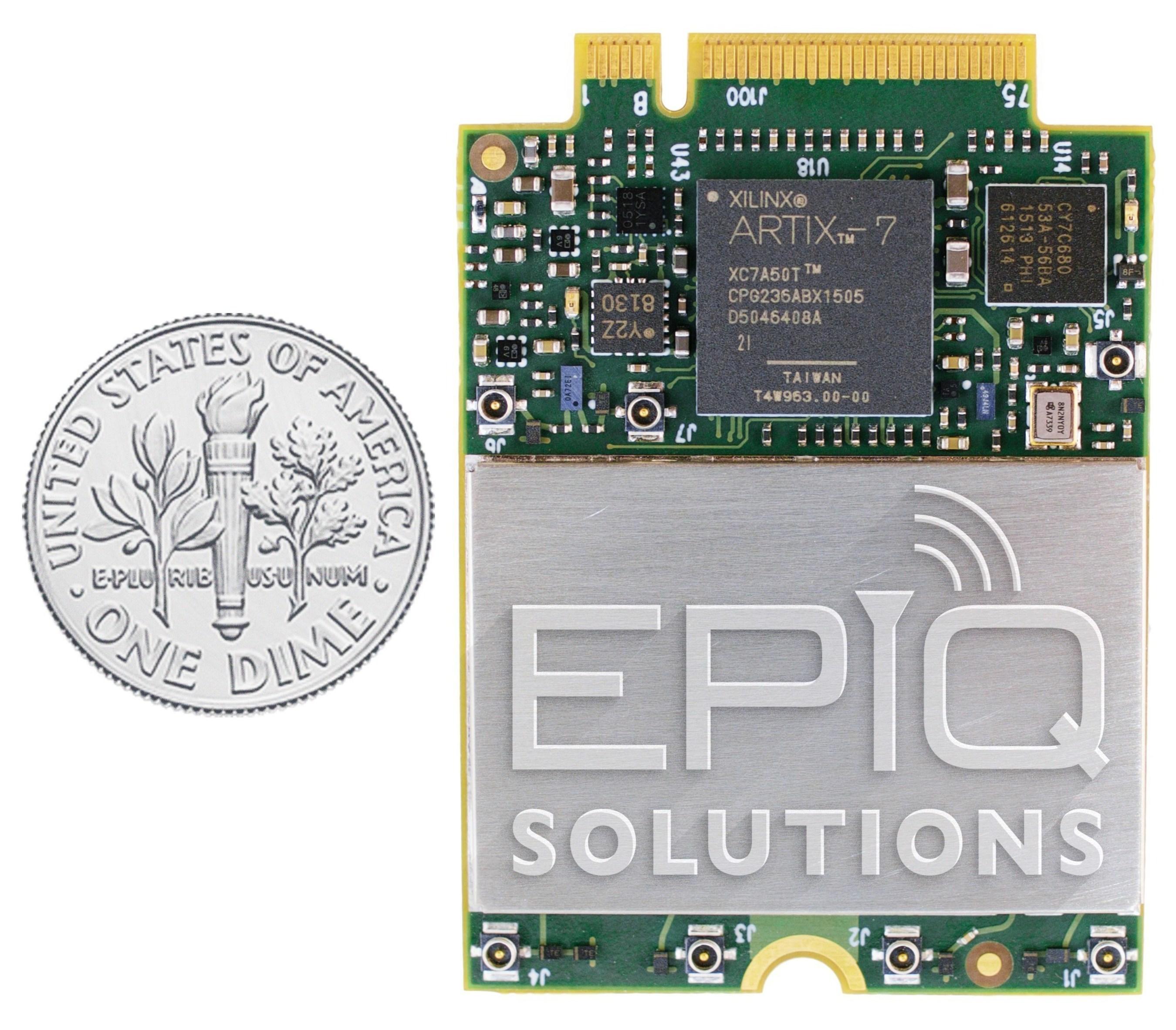 Epiq Solutions Sidekiq M.2 Software Defined Radio (SDR) card
