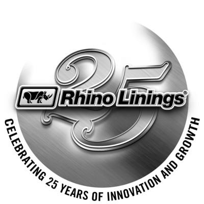 Rhino Linings celebrating 25 years of innovation and growth.  (PRNewsFoto/Rhino Linings Corporation)