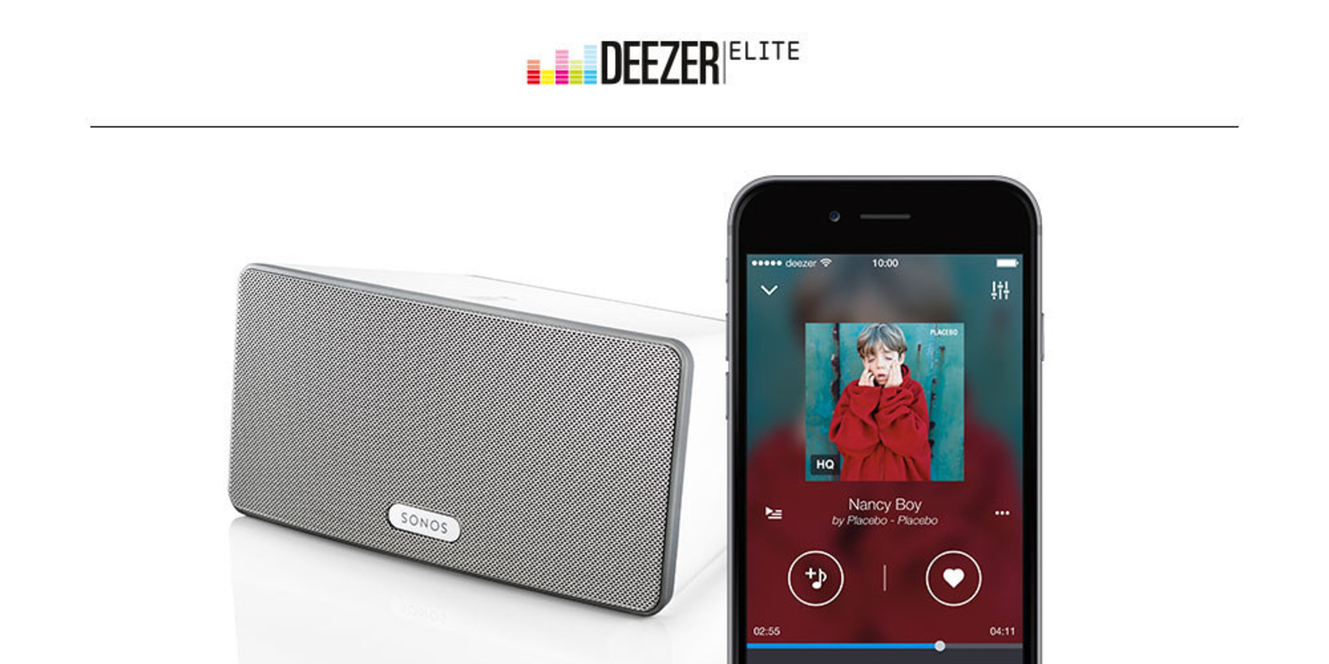 Deezer Announces High Definition Streaming on Sonos Globally, Deezer Elite Becomes Largest Global High Definition Streaming service