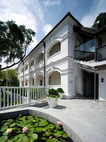 Hotel facade of UNESCO awarded Tai O Heritage Hotel Hong Kong.  (PRNewsFoto/Tai O Heritage Hotel Hong Kong)