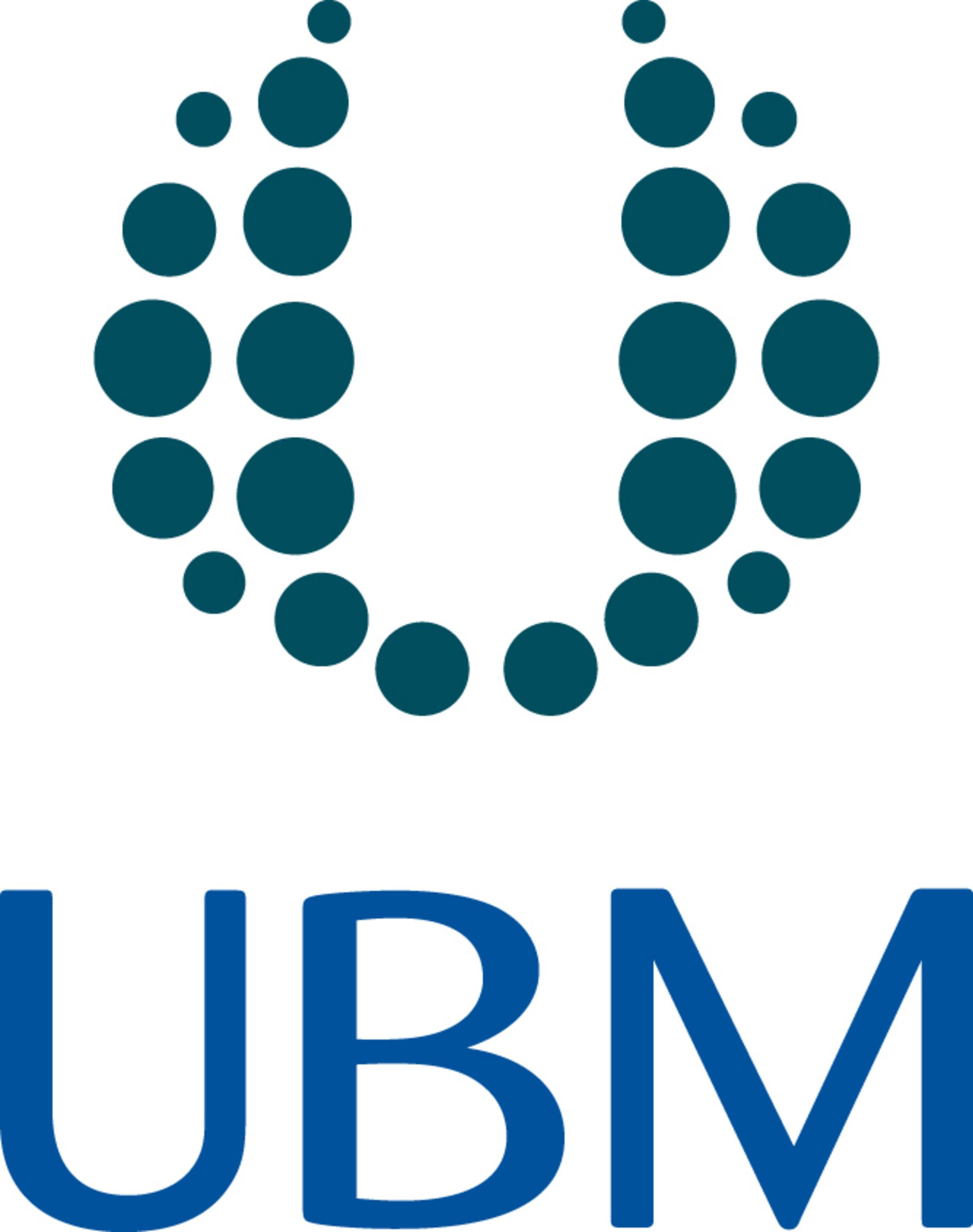 UBM India Logo (PRNewsFoto/UBM India  Pvt. Ltd.)
