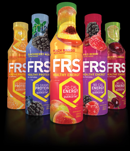FRS to Offer Ready-to-Drink, All Natural, Healthy Protein and Healthy Energy Formulas in PET.  (PRNewsFoto/The ...