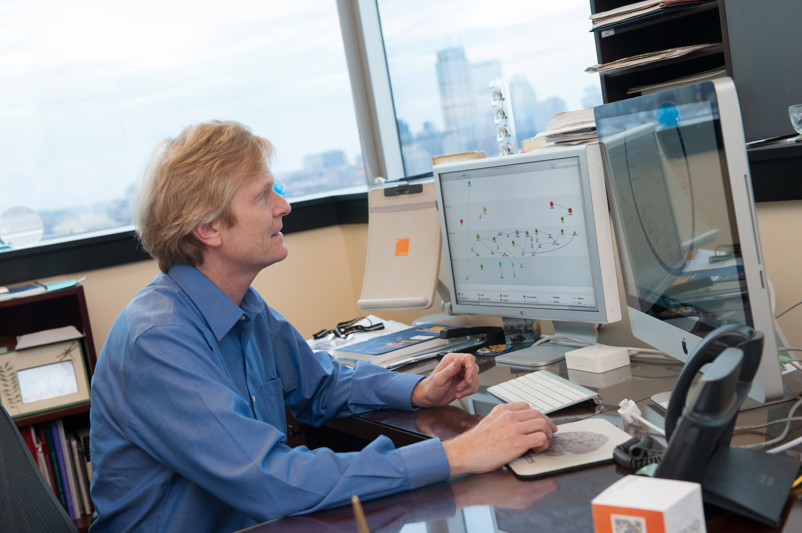 Dr. Christopher Walsh, Chief of Genetics at Boston Children's Hospital explores the IBM Watson for Genomics Dashboard.