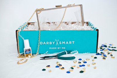 Need a DIY Project?  Darby Smart sends you chic materials and simple instructions, and you get to create stylish DIY projects based on the latest design trends.  Go to https://www.darbysmart.com. (PRNewsFoto/Darby Smart)