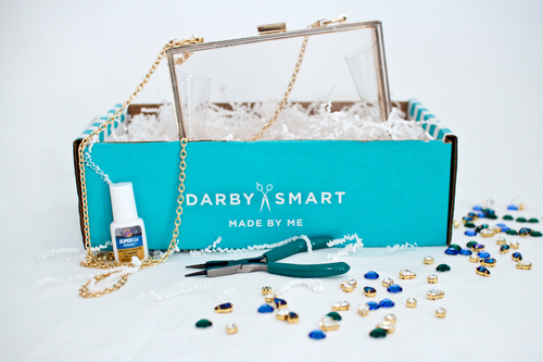 Need a DIY Project?  Darby Smart sends you chic materials and simple instructions, and you get to create ...