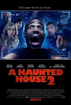 "Regal offers free digital HD copy of ""A Haunted House"" when purchasing tickets to the new film ""A Haunted House 2."" Image Source: Open Road Films"
