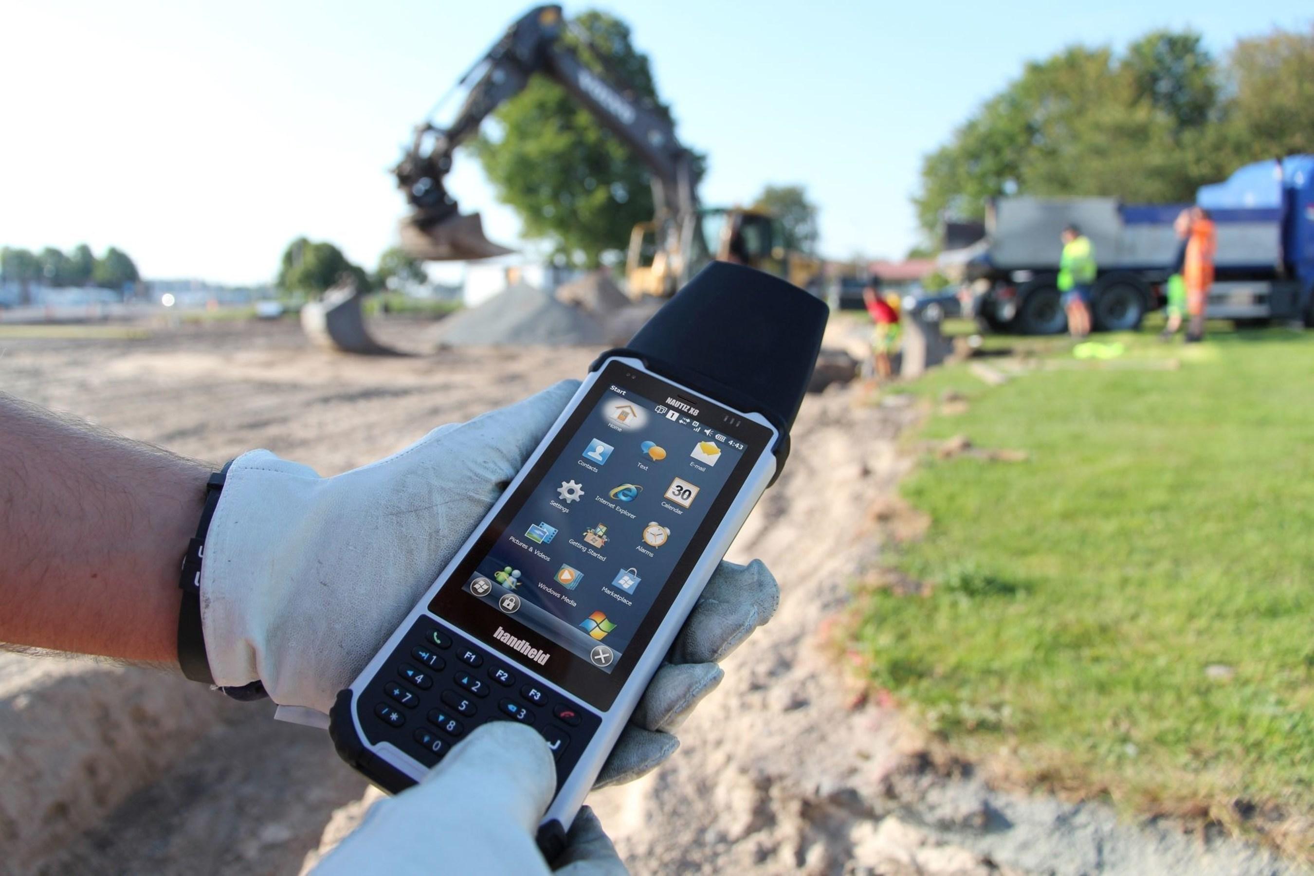 La computadora de campo ultrarobusta NAUTIZ X8 de Handheld tiene nuevos accesorios que se pueden