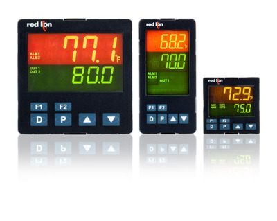Red Lion's PXU series of PID controllers is designed for machine builders, systems integrators and commercial equipment manufacturers.  (PRNewsFoto/Red Lion Controls)