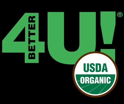 Better4U Foods goes Organic! (PRNewsFoto/Better For You Foods LLC)