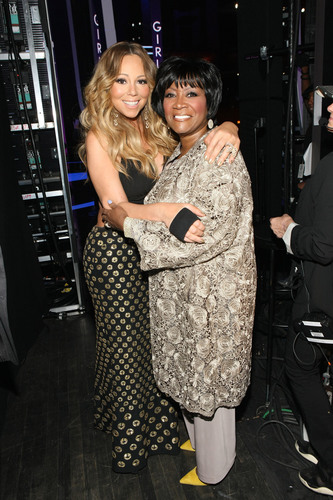 Patti LaBelle and Mariah Carey backstage at Black Girls Rock! Premieres Sunday, Nov. 3 at 7pm on BET. ...