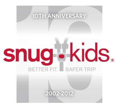 Nissan's Snug Kids celebrates its 10th anniversary.  (PRNewsFoto/Nissan North America)