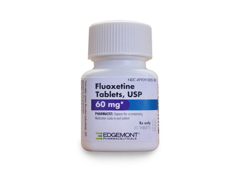 Edgemont - New Fluoxetine Tablets, 60 mg Now Available