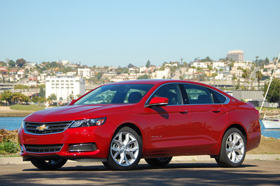 The redesigned Chevy Impala elevated its status as a good option in 2013 to a class leader in 2014. (PRNewsFoto/Bill Jacobs Automotive Group)