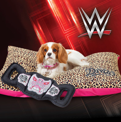 WWE(R) pet product collection by PETMATE(R) is now available at retail
