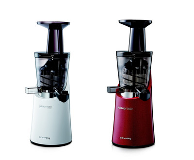 Juicepresso's new colors: red & white