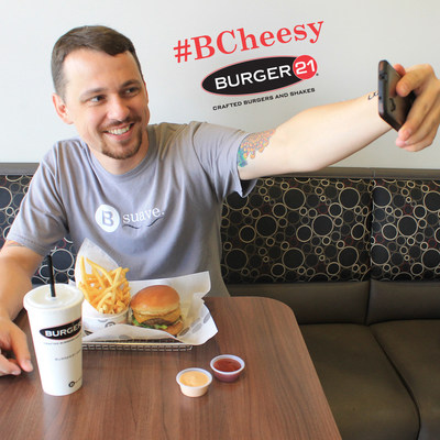 BURGER 21 CELEBRATES NATIONAL CHEESEBURGER DAY