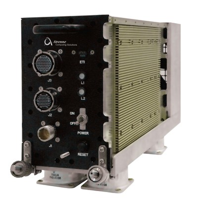 Atrenne's 717 Series forced-air conduction cooled ATR Chassis offers a low-risk platform for embedded development.